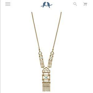 Chloe+Isabel Stepwel convertible necklace&earrings
